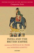 Cover for India and the British Empire
