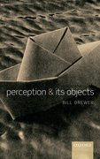 Cover for Perception and its Objects