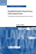 Cover for Establishing the Supremacy of European Law