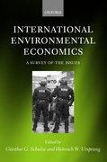 Cover for International Environmental Economics