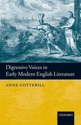 Cover for Digressive Voices in Early Modern English Literature