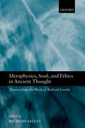 Cover for Metaphysics, Soul, and Ethics in Ancient Thought