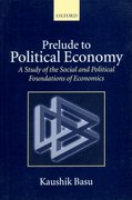 Cover for Prelude to Political Economy
