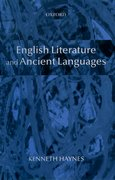 Cover for English Literature and Ancient Languages