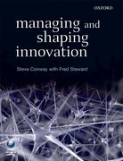 Cover for Managing and Shaping Innovation