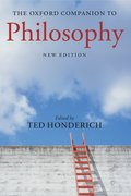 Cover for The Oxford Companion to Philosophy
