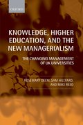 Cover for Knowledge, Higher Education, and the New Managerialism