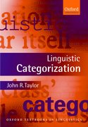 Cover for Linguistic Categorization