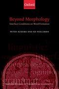 Cover for Beyond Morphology