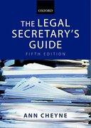 Cover for The Legal Secretary