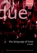 Cover for The Language of Time: A Reader