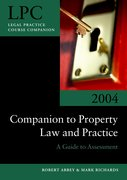 Cover for Companion to Property Law and Practice