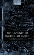 Cover for The Grounds of English Literature