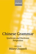 Cover for Chinese Grammar