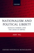 Cover for Nationalism and Political Liberty