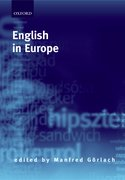 Cover for English in Europe