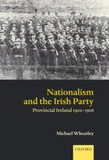 Cover for Nationalism and the Irish Party