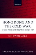 Cover for Hong Kong and the Cold War