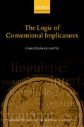 Cover for The Logic of Conventional Implicatures