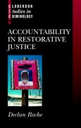 Cover for Accountability in Restorative Justice