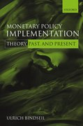 Cover for Monetary Policy Implementation