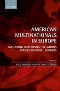 Cover for American Multinationals in Europe