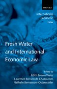 Cover for Fresh Water and International Economic Law