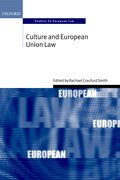 Cover for Culture and European Union Law