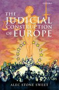 Cover for The Judicial Construction of Europe
