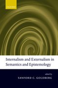 Cover for Internalism and Externalism in Semantics and Epistemology