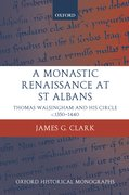 Cover for A Monastic Renaissance at St Albans