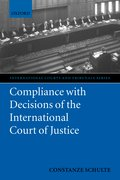 Cover for Compliance with Decisions of the International Court of Justice
