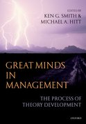 Cover for Great Minds in Management