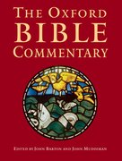 Cover for The Oxford Bible Commentary