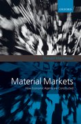 Cover for Material Markets
