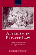 Cover for Altruism in Private Law
