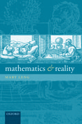 Cover for Mathematics and Reality