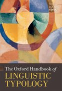 Cover for The Oxford Handbook of Linguistic Typology