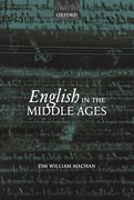 Cover for English in the Middle Ages