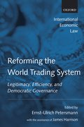 Cover for Reforming the World Trading System