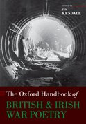 Cover for The Oxford Handbook of British and Irish War Poetry