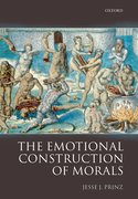 Cover for The Emotional Construction of Morals