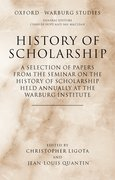 Cover for History of Scholarship