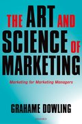 Cover for The Art and Science of Marketing