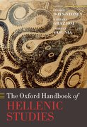 Cover for The Oxford Handbook of Hellenic Studies