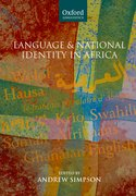 Cover for Language and National Identity in Africa
