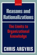 Cover for Reasons and Rationalizations
