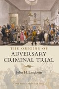 Cover for The Origins of Adversary Criminal Trial