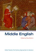 Cover for Middle English