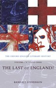Cover for The Oxford English Literary History